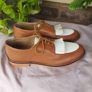 Urban Outfitters Cooperative Kiltie Fringe Oxford